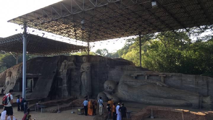 在斯里兰卡遥望圆明园大水法