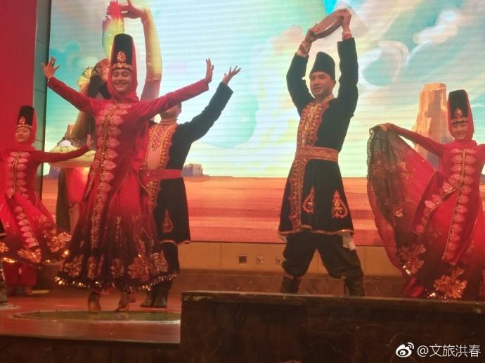 参加新疆直销天山公司盛大年会